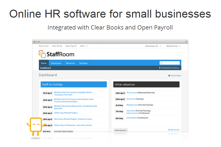 Online Hr Software For Small Businesses Clear Books