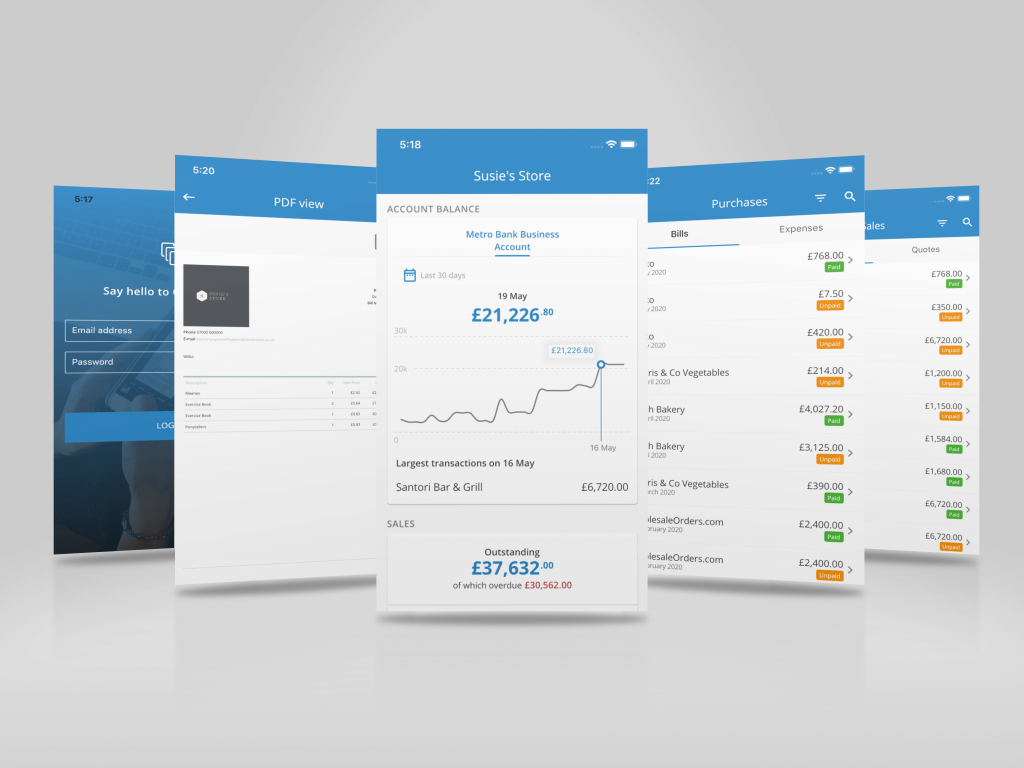 Clear Books Mobile accounting app