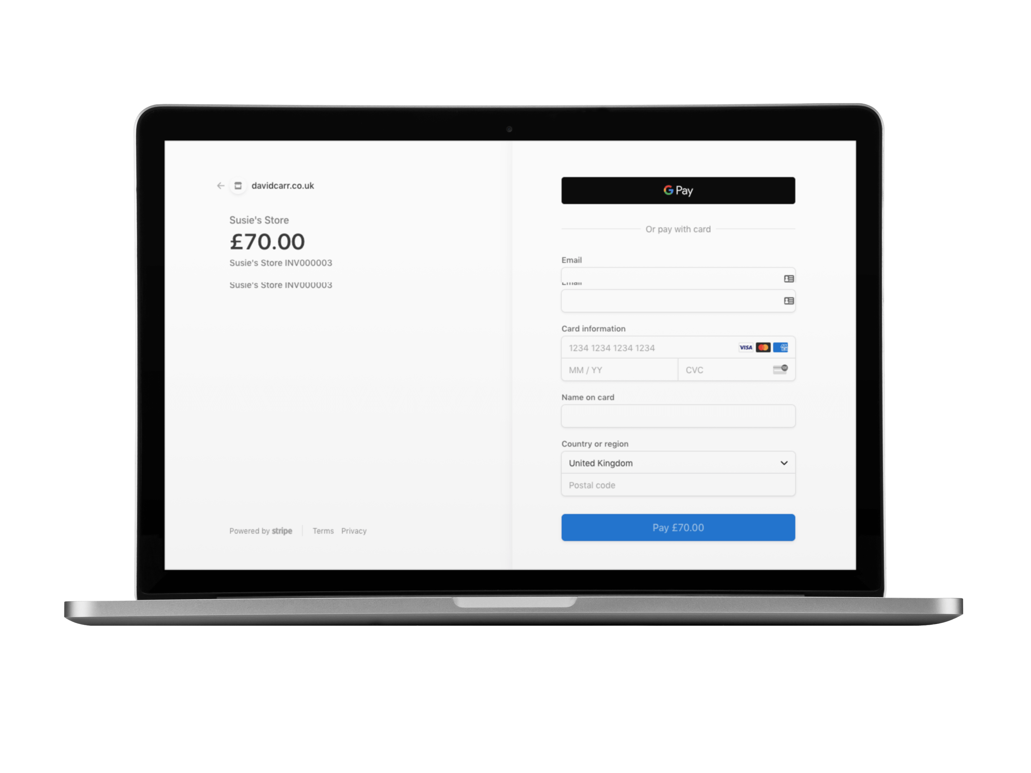 Accept Stripe payments in Clear Books