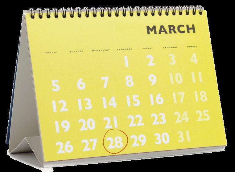 Calendar to show Payroll Periods