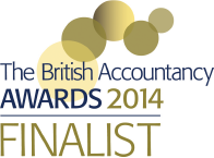 British Accountancy Awards 2014 Finalist Logo