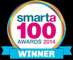 Smarta 100 Awards 2014 Winner Logo