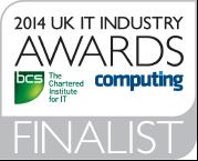 UK IT Industry Awards 2014 Finalist Logo