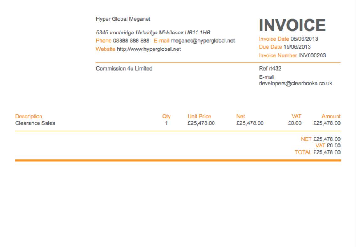 Invoice Simple App