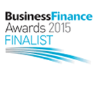 Business finance awards logo