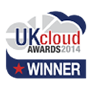 UK cloud awards logo