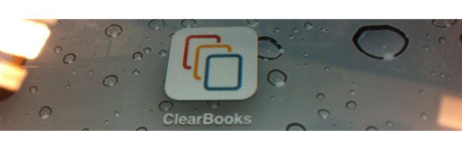Clear Books App icon