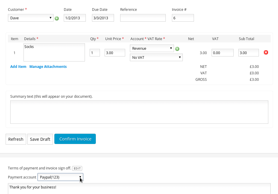 Clear Books Adds Payment Buttons To Invoices Clear Books Blog - How to create an invoice for payment