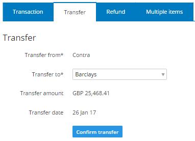 transfer tab