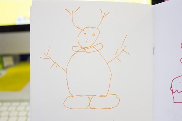 'Snowman' by Shiv