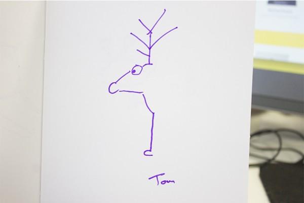 'Rudolph' by Tom V