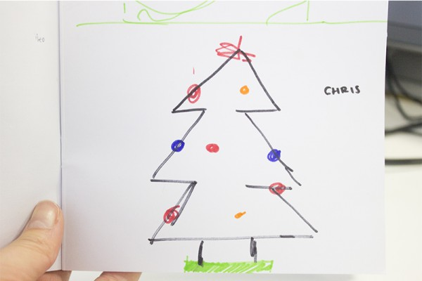 'Christmas tree' by Chris