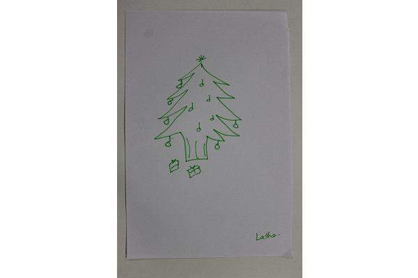 Latha-Christmas-Tree-Drawing