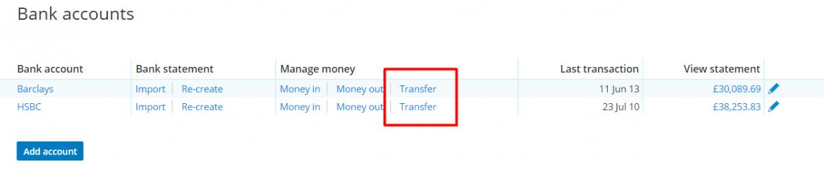 manage - transfer