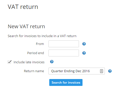 VAT rates on different goods and services