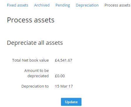 fixed assets DA